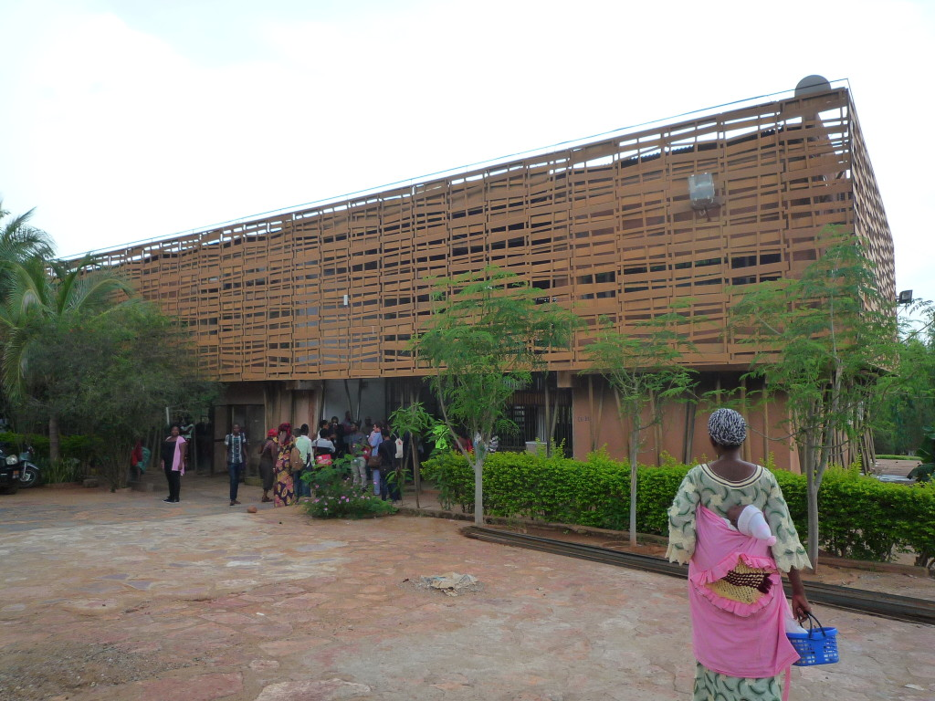 Conservatoire des Arts, Bamako, where I participated in a symposium...somehow